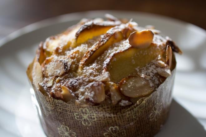 Almond Apple Cake