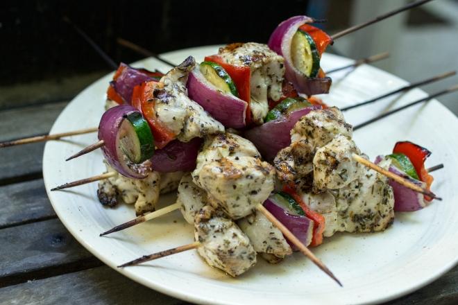 Greek Chicken Kebabs6