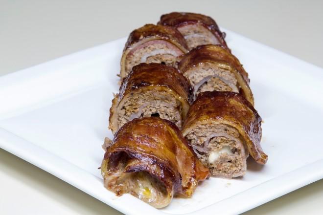 Bacon Sushi6