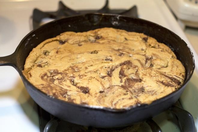 Skillet Cookie6
