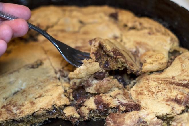 Skillet Cookie8
