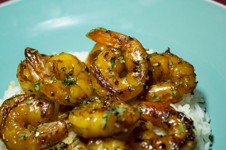 Honey Ginger Shrimp8