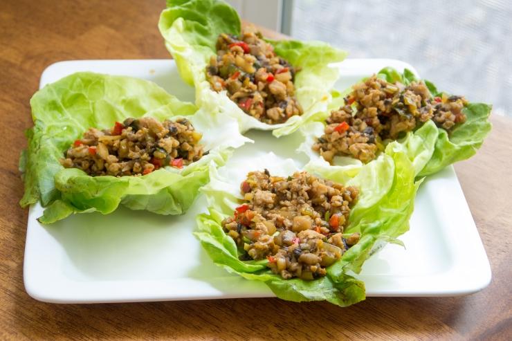 chicken lettus wraps-10
