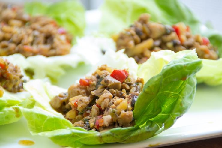 chicken lettus wraps-12