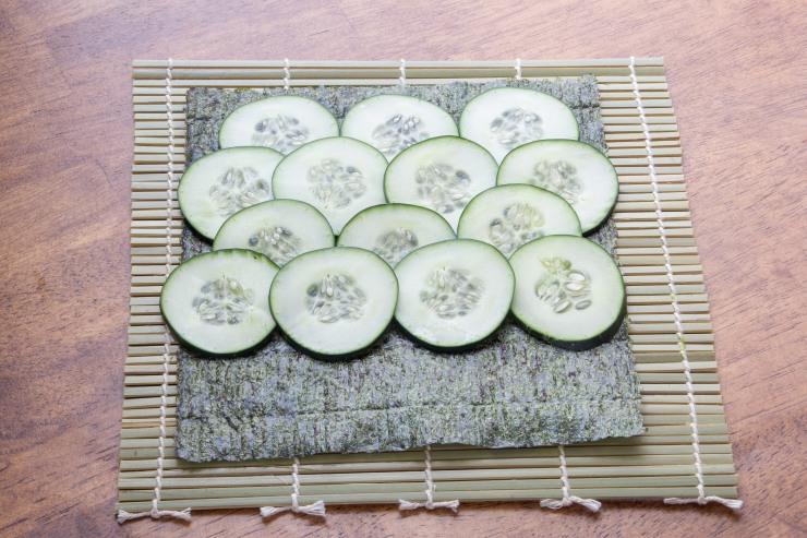 vegetable sushi-1