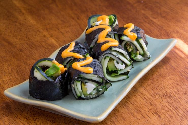 vegetable sushi-11