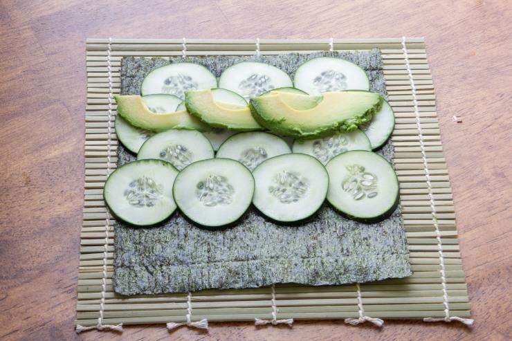 vegetable sushi-2