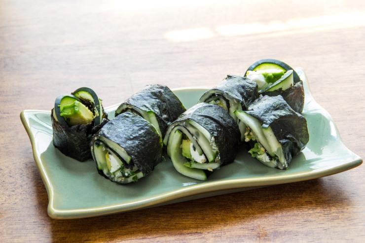 vegetable sushi-8